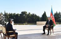 """Chronicles of Victory: President Ilham Aliyev interviewed by Turkish A Haber TV channel on October 16, 2020 <span class=""""color_red"""">[PHOTO/VIDEO]</span>"""