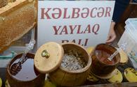 """Honey from liberated Kalbajar, Lachin delivered to Baku fair <span class=""""color_red"""">[PHOTO]</span>"""