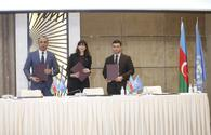 """Azerbaijan, UN ink MoU to promote corporate sustainability <span class=""""color_red"""">[PHOTO]</span>"""