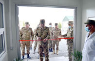"""Azerbaijan opens new military facilities in liberated lands <span class=""""color_red"""">[PHOTO/VIDEO]</span>"""