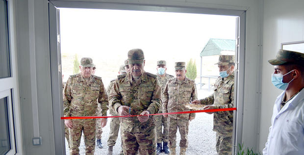 """Azerbaijan launches new military facilities in liberated lands <span class=""""color_red"""">[PHOTO/VIDEO]</span>"""