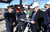 """New customs post in Azerbaijan to speed up cargo movement along North-South corridor <span class=""""color_red"""">[PHOTO]</span>"""
