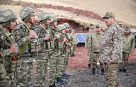 """Azerbaijan's MoD inspects combat positions in liberated Kalbajar, Lachin districts <span class=""""color_red"""">[PHOTO]</span>"""