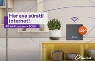 Azercell offers a new Wi-Fi campaign!