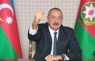 """Chronicles of Victory: President Ilham Aliyev announces that Gubadli is freed from occupation <span class=""""color_red"""">[PHOTO]</span>"""