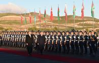 """Official welcoming ceremony for Erdogan held in Zangilan <span class=""""color_red"""">[PHOTO]</span>"""