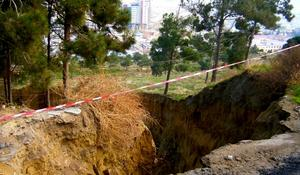 New landslide zones appear in country