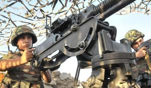 Relatively calm situation on contact line of Armenian and Azerbaijani troops