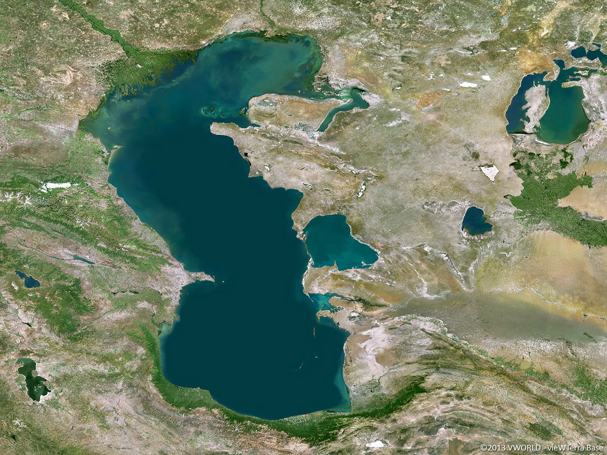 Image result for caspian sea