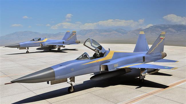 Iran's Air Force begins mass production of fighter jet